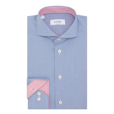 Textured Dress Shirt, ${color}