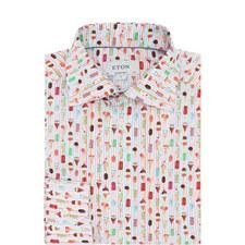 Ice Cream Print Shirt