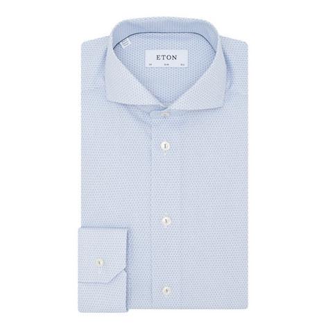 Printed Long Sleeve Shirt, ${color}