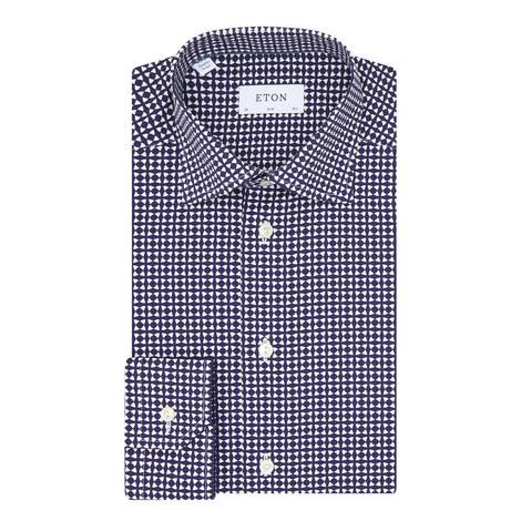Micro-Tile Print Shirt, ${color}