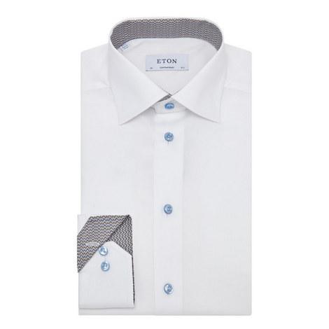 Bulldog Trim Twill Shirt, ${color}