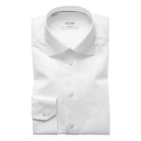 Fine Twill Single Cuff Shirt, ${color}