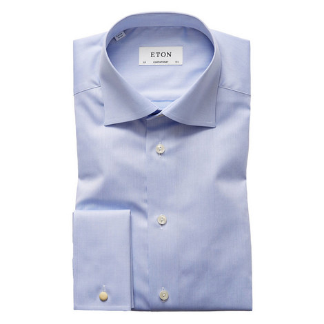 Sky Fine Twill Shirt, ${color}
