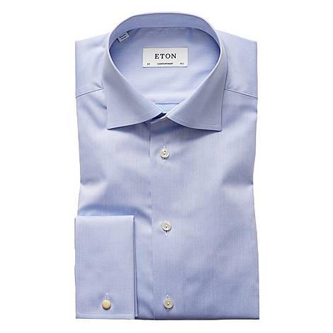 Sky Fine Twill Shirt, ${color}