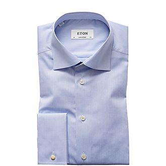 Sky Fine Twill Shirt