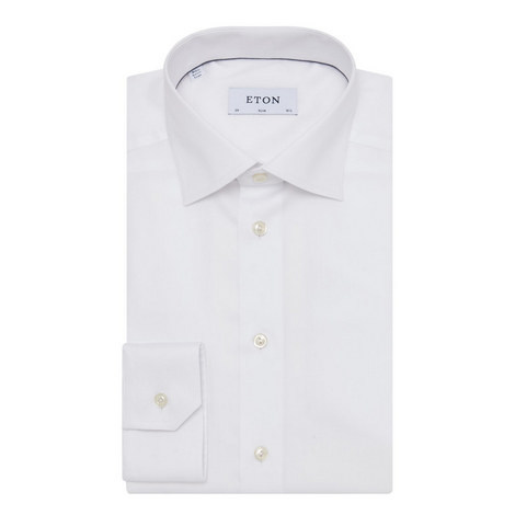 Slim Twill Shirt, ${color}