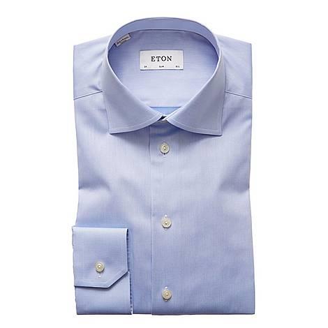 Sky Slim Twill Shirt, ${color}