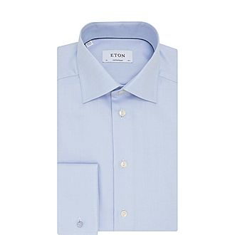 Double Cuff Twill Shirt