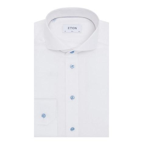 Slim Fit Cotton Shirt, ${color}