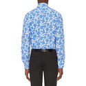 Leaf Print Contemporary Fit Shirt, ${color}