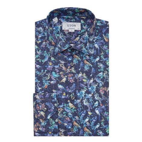 Floral Print Shirt, ${color}