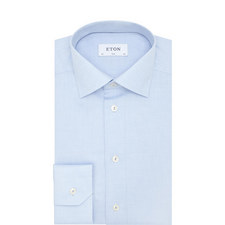 Micro-Pattern Textured Shirt