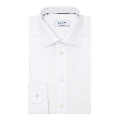 Textured Circle Pattern Shirt, ${color}
