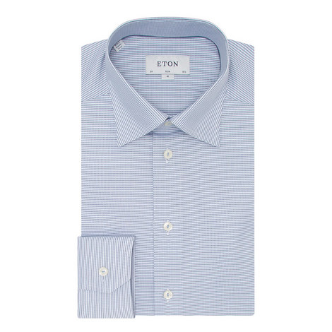 Textured Slim Fit Shirt, ${color}