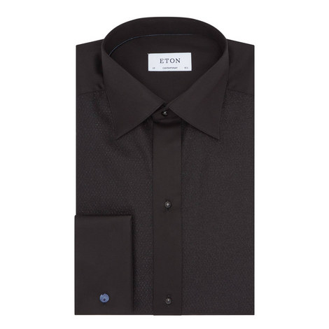Lurex Evening Shirt, ${color}