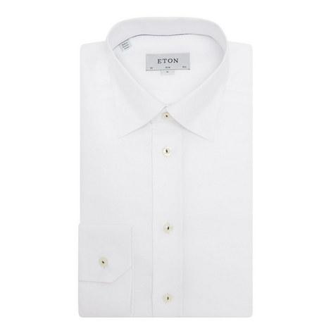 Diamond Pattern Slim Fit Shirt, ${color}