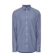 Diamond Print Regular Fit Shirt