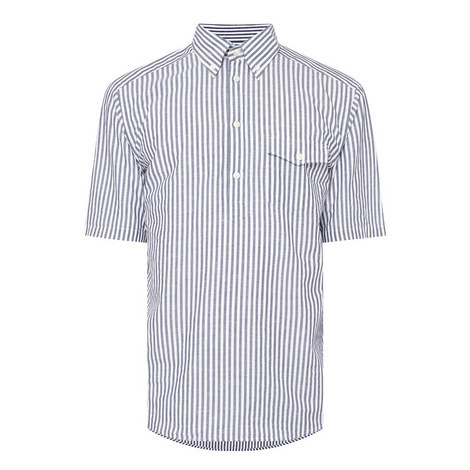Overhead Stripe Slim Fit Shirt, ${color}