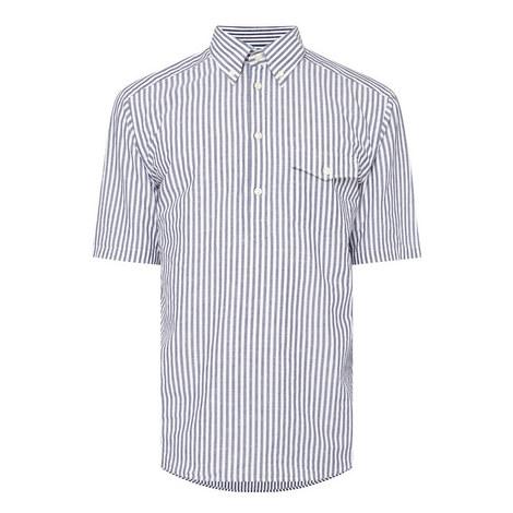 Overhead Stripe Slim Fit Shirt, ${color}