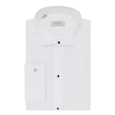 Slim Fit Studded Dress Shirt, ${color}