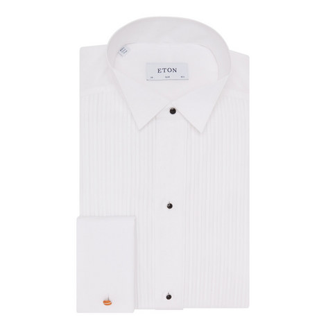 Slim Fit Dress Shirt, ${color}