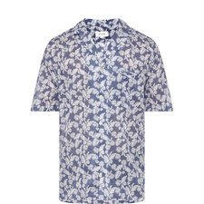 Palm Print Bowling Shirt