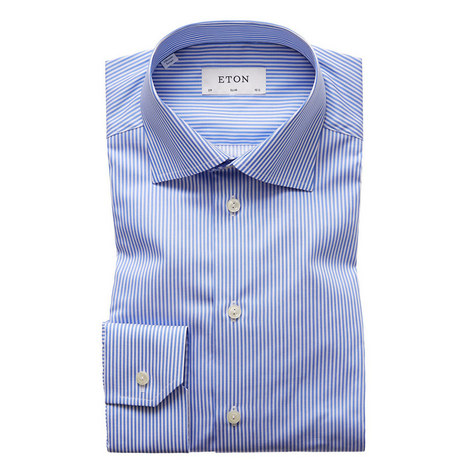 Bengal Striped Slim Fit Shirt, ${color}