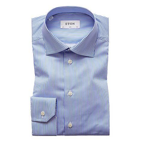Bengal Striped Slim Fit Shirt, ${color}