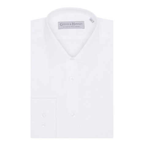 Poplin Tailor Fit Shirt, ${color}