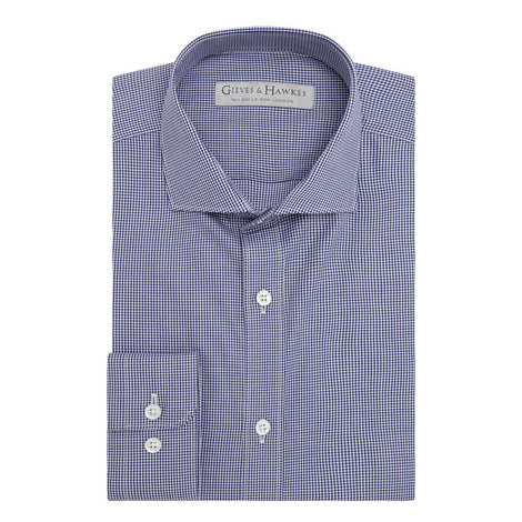 Micro Check Shirt, ${color}