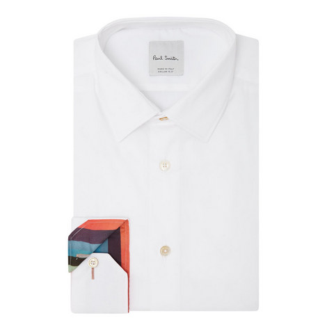 Stretch Tailored Shirt, ${color}