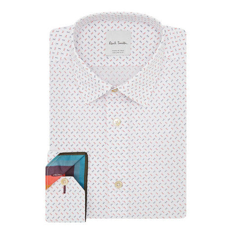 Scissors Print Shirt, ${color}