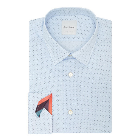 Micro-Print Shirt , ${color}