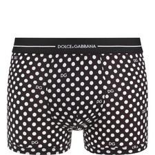 Polka Dot Boxer Shorts