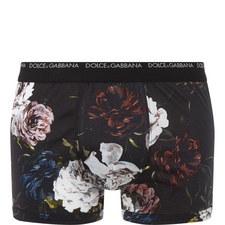 Floral Print Boxer Shorts