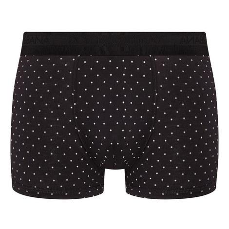 Dot Print Boxer Shorts, ${color}