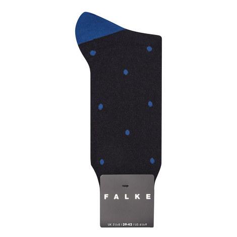 Dot Patterned Socks, ${color}