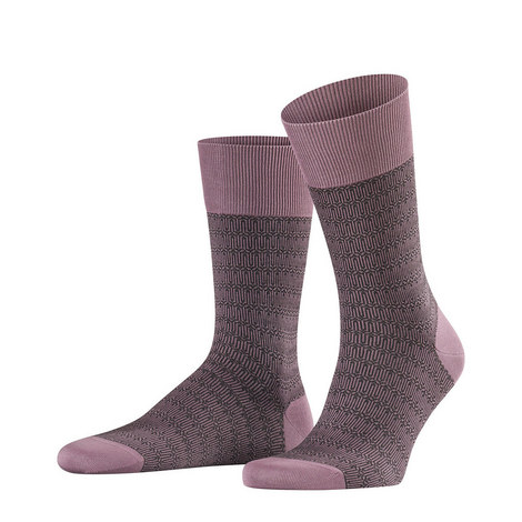 Purple Time Tainted Socks, ${color}