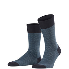 Navy Blue Sensitive Ercolano Socks