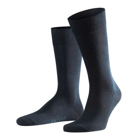 Falke Navy Family Casual Socks, ${color}