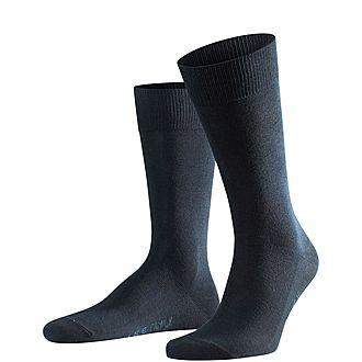 Falke Navy Family Casual Socks