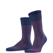 Blue On Rasbeery Shadow Sock
