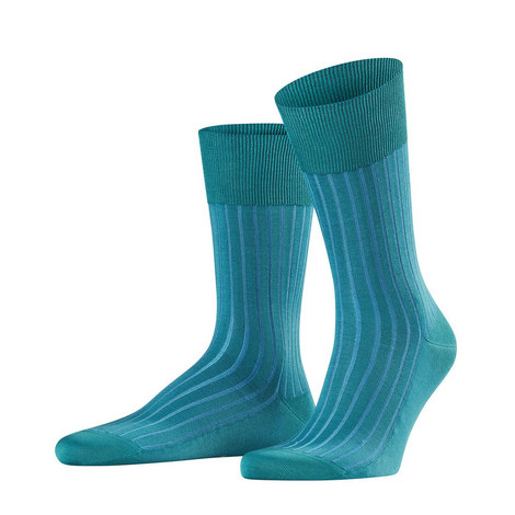 Green On Blue Shadow Sock, ${color}