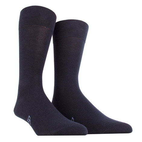 Flat Knit Socks, ${color}