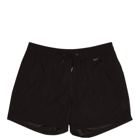 Solid Swim Shorts, ${color}