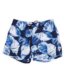 Shell Print Swim Shorts