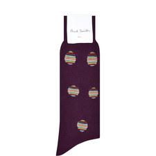 Striped Polka Dot Socks