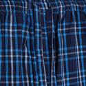 Woven Check Print Pyjama Bottoms, ${color}