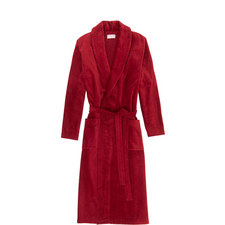Classic Cotton-Velour Robe