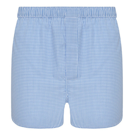Gingham Boxer Shorts, ${color}